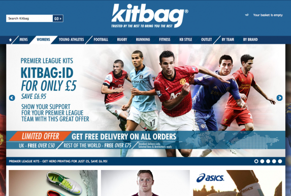 Kitbag trusted by the best to bring you the best