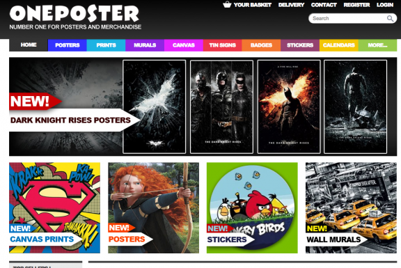 Oneposter number one for posters and merchandise
