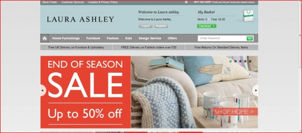 Laura Ashley, one of the worlds best loved lifestyle brands