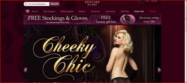 Bedtime Flirt lingerie for the ultimate in boudoir glamour!