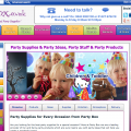 Partybox celebrating 13 years of party supplies